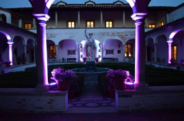 Villa Terrace Wedding Reception DJ Service